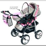Girl Carseat And Stroller Set