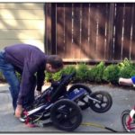 How To Fold A Bob Double Jogging Stroller