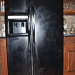 How To Paint A Refrigerator Black