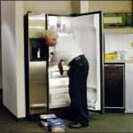 Moving A Refrigerator On Its Back