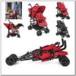 Very Small Double Stroller