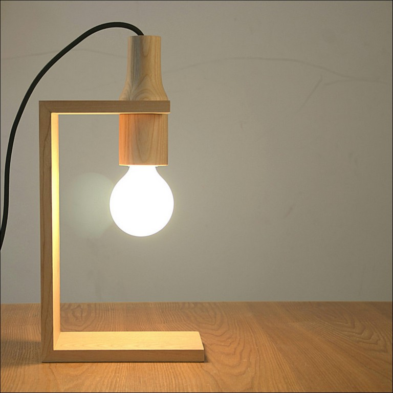 Wooden Table Lamp Designs