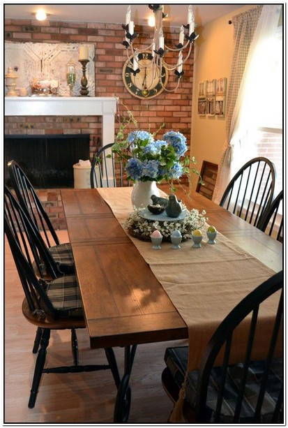 Black Farmhouse Table And Chairs For Sale