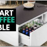 Coffee Table With Fridge And Speakers