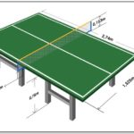 Ping Pong Table Dimensions