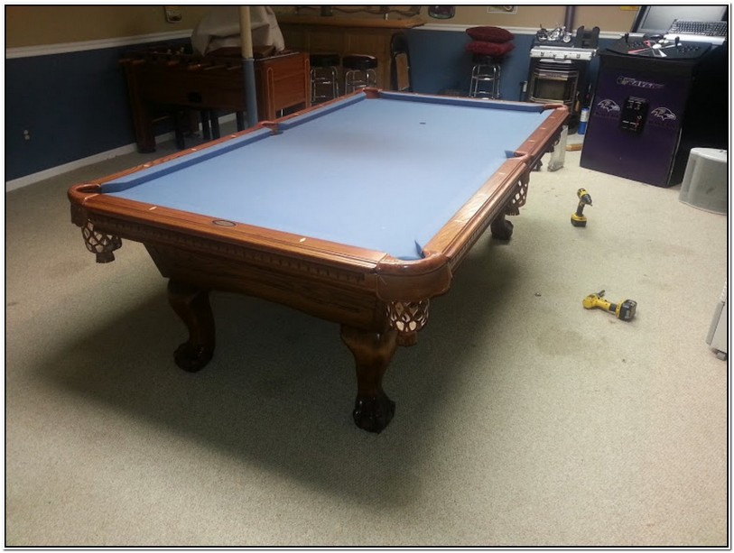 Pool Table Felt Replacement Service