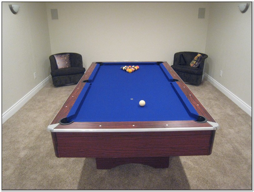 Re Felting A Pool Table