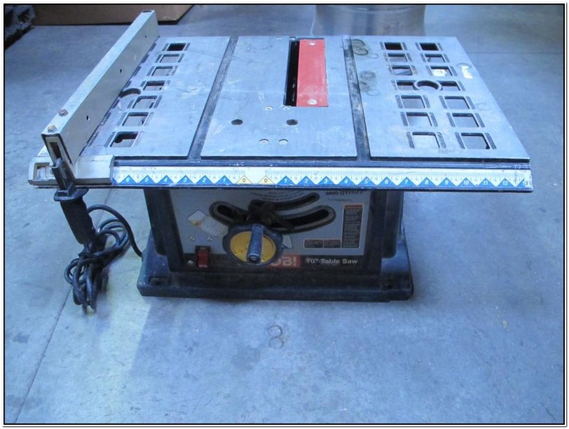 Ryobi 10 Inch Table Saw Blue