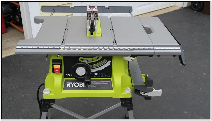 Ryobi 10 Inch Table Saw Rip Fence