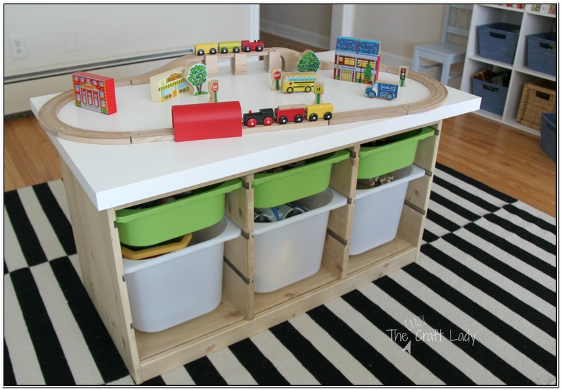 Train Table With Storage Ikea