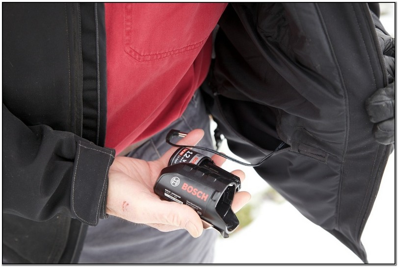 Bosch Heated Jacket With Battery And Charger