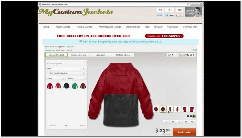 Customize Your Own Jacket Cheap