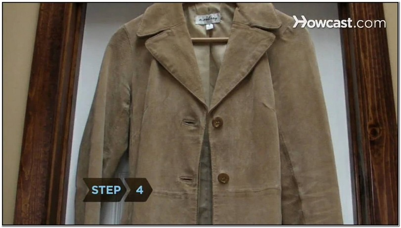 How To Clean Suede Jacket Smell