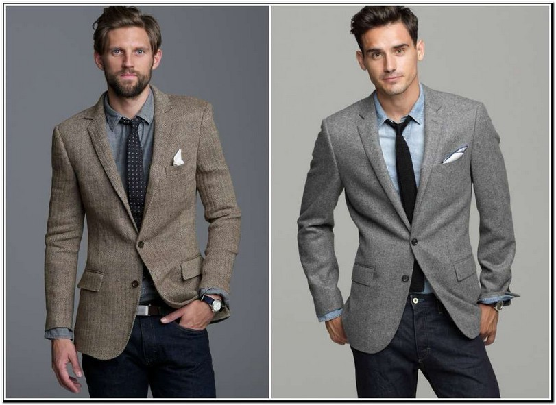 How To Wear A Sport Jacket With Jeans