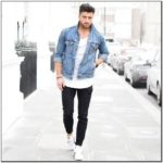 Jean Jacket Outfits Male