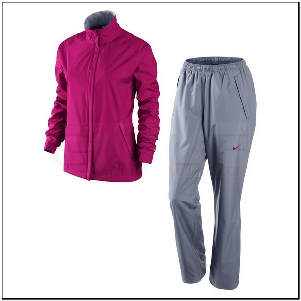 Nike Womens Golf Rain Jacket