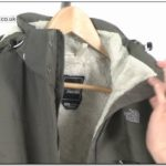 The North Face Inlux Waterproof Insulated Womens Jacket Grey