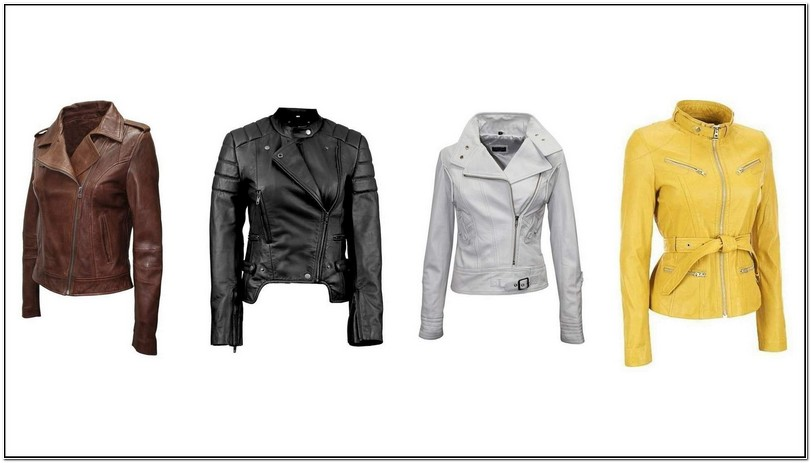 Types Of Leather Jackets For Ladies