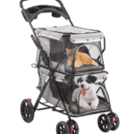 How to Clean Double Dog Stroller walmart?
